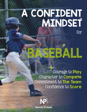 motivational poster for A confident baseball player