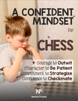 motivational poster for A confident chess plyer