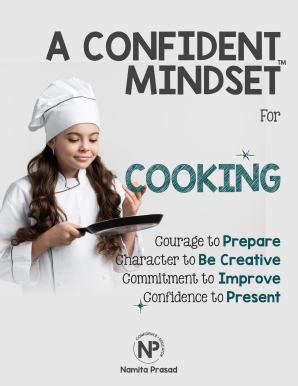 motivational poster for A confident cook