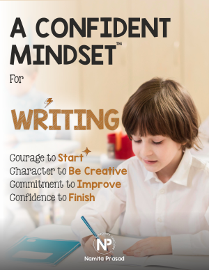 motivational poster for A confident writer